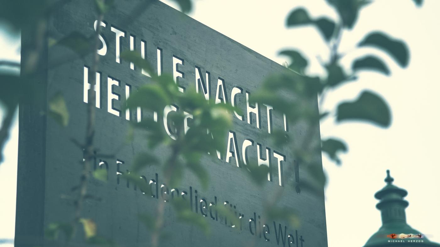 Stille Nacht Stele Arnsdorf